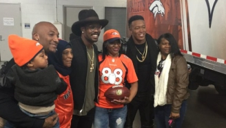 Demaryius Thomas' Mom Received A Special Honor From Peyton Manning After Denver's Win