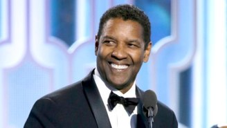 Watch Denzel Washington Accept The Cecil B. DeMille Award At The Golden Globes