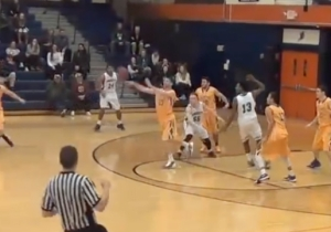 A Three-Quarter Court Buzzer-Beater Capped Off This Insane Game-Winning Sequence