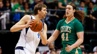 Dirk Nowitzki Disagrees With Tommy Heinsohn's Insane Kelly Olynyk Comparison