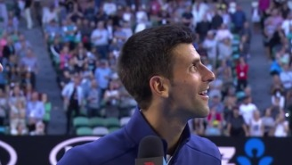 If You Plan On Heckling Novak Djokovic, Be Prepared For His Amazing Reaction