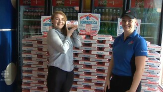 This Woman Who Won Free Pizza For A Year Has 'Reached Ultimate Happiness'