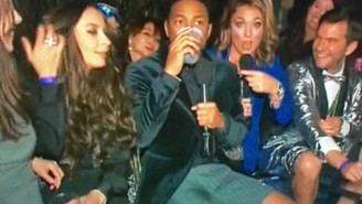 The Priceless Reactions From Don Lemon's Wet And Wild New Year's Eve