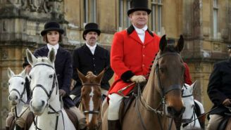 'Downton Abbey' Returns For One Last Round Of Well-Dressed Drama