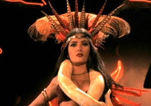 Salma Hayek's Snake Phobia And Other Facts About 'From Dusk Till Dawn'