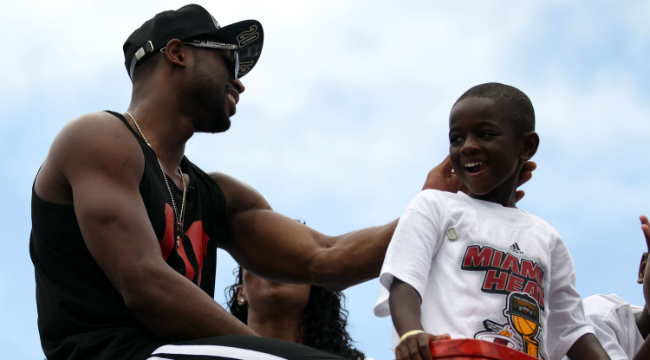 Dwyane Wade's Son Sent This Inspirational Text To Motivate His Dad