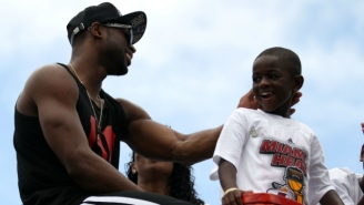 Dwyane Wade's Son Motivated His Dad With This Inspirational Text Message