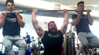 This Strongman's Ridiculous 9,000 Calorie Diet Might Make You Sick