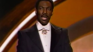 In 1988, Eddie Murphy stopped the Oscars to discuss recognition of black roles