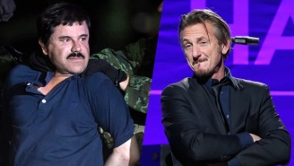Sean Penn Admits 'A Terrible Regret' While El Chapo Accuses Him Of Lies And 'Stupidities'