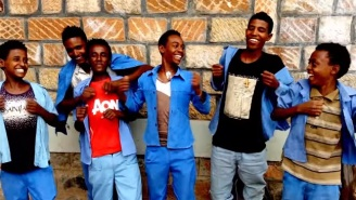 The Ethiopian Kids Are Back Again, This Time Singing 'Smells Like Teen Spirit'