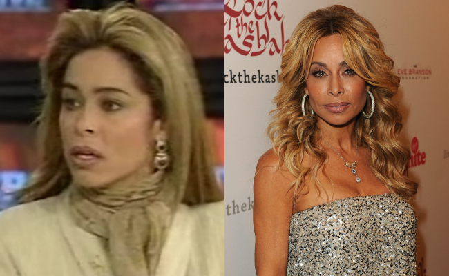 Faye Resnick Then and Now
