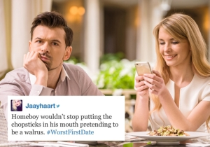 How Do Your Bad First Dates Hold Up To This #WorstFirstDates Hashtag?