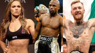 Floyd Mayweather Says Praise For Ronda Rousey And Conor McGregor Proves 'Racism Still Exists'