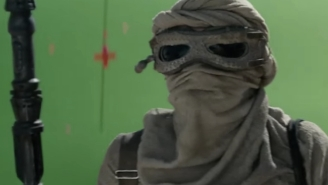 Have Your Mind Blown By This 'Before And After' VFX Look At 'Star Wars: The Force Awakens'