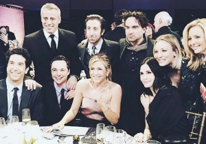The One Where The Cast Of 'Friends' Hung Out With The Cast Of 'The Big Bang Theory'