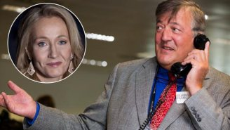 J.K. Rowling's Revenge On Stephen Fry While Writing 'Harry Potter' Was Practically Malfoy-ian