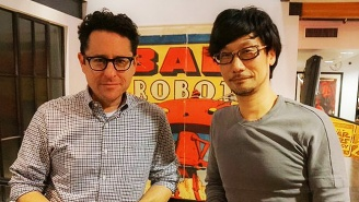 J.J. Abrams Met With 'Metal Gear Solid' Creator Hideo Kojima To Talk Games And Tech