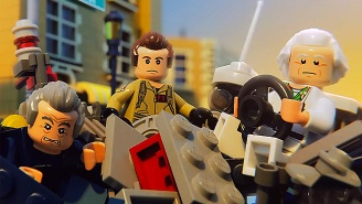 The New 'LEGO Dimensions' Trailer Brings Doctors Who, Brown And Venkman Together For The First Time