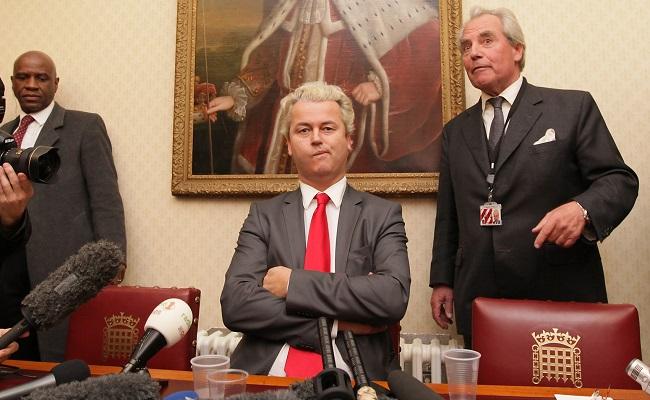Controversial Dutch Politician Geert Wilders Arrives In The UK