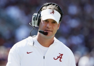 Alabama's Buses Left Without Lane Kiffin After The National Championship