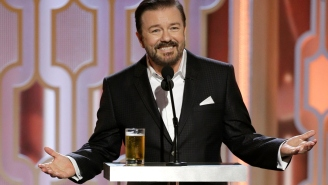 Ricky Gervais Defends His 'Transphobic' Caitlyn Jenner Joke At The Golden Globes