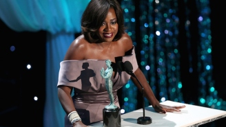Viola Davis Reminds The Press At The SAG Awards That 'Diversity Is Not A Trending Topic'