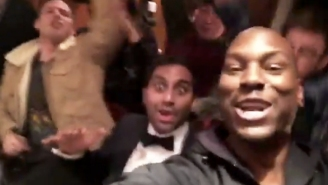 Aziz Ansari Pulled Back The Curtain To Tyrese's Insane Private Backyard 'Benihana' Setup, 'GibsiHana'