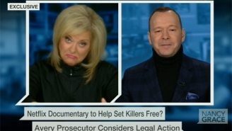 Nancy Grace And Donnie Wahlberg Bond Over Their Thoughts On 'Making A Murderer'