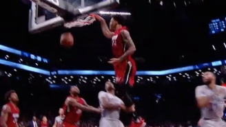 Gerald Green Touches The Sky On This Angry One-Handed Jam Against The Nets
