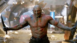 Embrace 'Drax Mode' With Dave Bautista's Muscles-Upon-Muscles Look For 'Guardians Of The Galaxy Vol. 2'