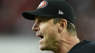 Jim Harbaugh May Have Dropped A Harsh Subtweet On The 49ers After Jim Tomsula's Firing