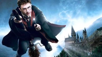This Awesome Boyfriend Crafted A 'Harry Potter' Broomstick For His Potterhead Lady