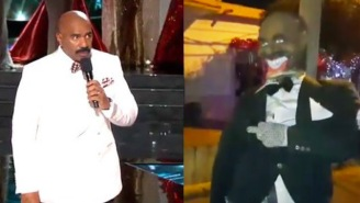 Colombians Celebrate The New Year By Burning Steve Harvey And Miss Universe In Effigy