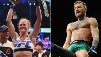 It Appears That Conor McGregor And Holly Holm Will Fight On The Same Mega Card