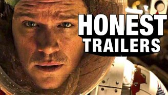 Honest Trailers can't believe Matt Damon has to be rescued AGAIN in 'The Martian'
