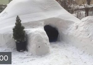 Not Even Winter Storm Jonas Could Stop This Guy's Entrepreneurial Spirit