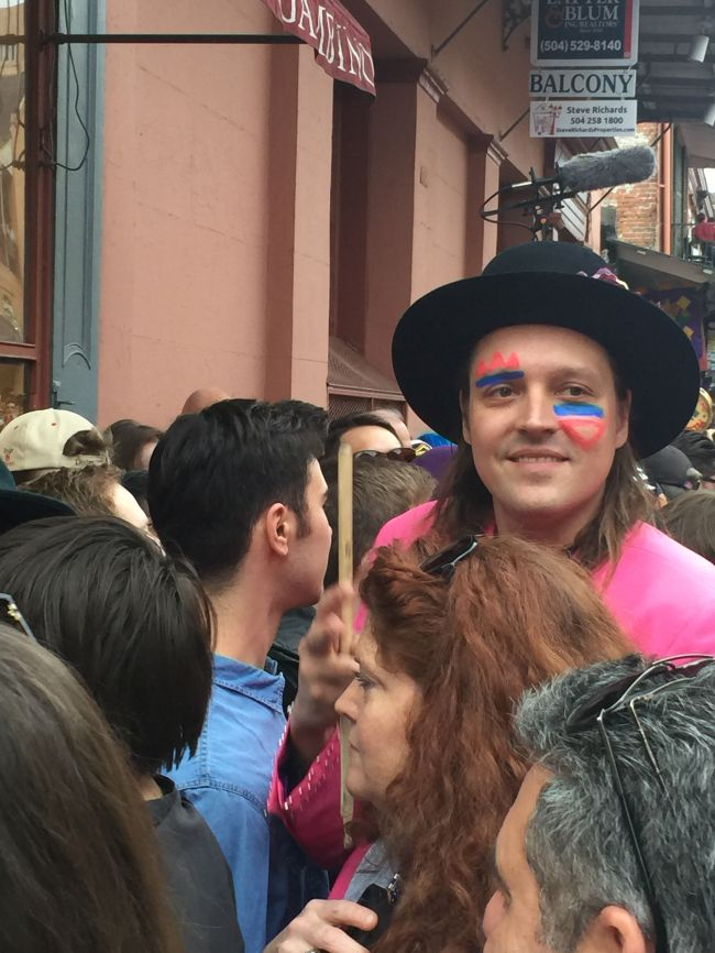 WIN BUTLER DAVID BOWIE PARADE NEW ORLEANS