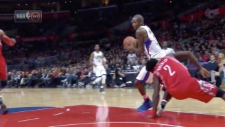 Jamal Crawford Almost Pulled Patrick Beverley's Groin Muscle With This Simple Move
