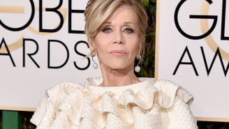 Did Jane Fonda just punch Jonah Hill with her mind during the Golden Globes?