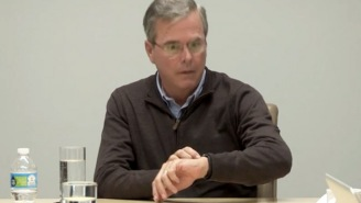Jeb! Bush Is Baffled When He Receives A Call On His Apple Watch