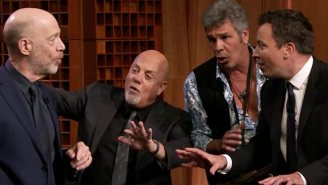 Watch Billy Joel Try Some Impromptu Doo Wop With J.K. Simmons And Jimmy Fallon