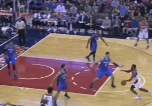 John Wall Freezes Nikola Vucevic With The Hesitation Move En Route To The Lefty Jam