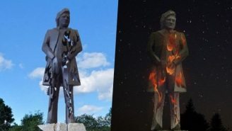 Johnny Cash Is Being Immortalized In Folsom With This Red Hot Statue