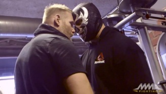 Josh Barnett Brought Some Pro Wrestling Flair To His UFC On Fox 18 Workout