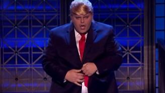Watch Josh Gad Touch Himself As Donald Trump On 'Lip Sync Battle'