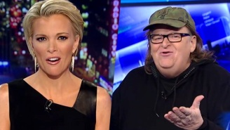 Michael Moore Gleefully Wonders Why Megyn Kelly Scares Donald Trump So Much