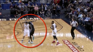 How Kevin Garnett Was Awarded Free Throws After Clotheslining Ryan Anderson