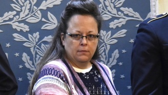 Kim Davis' Magnificent Poncho Caused Quite A Stir At The State Of The Union