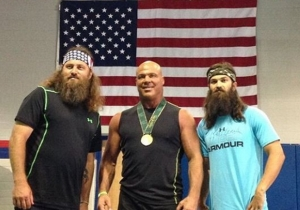Former WWE And TNA World Champion Kurt Angle Will Appear On 'Duck Dynasty' Because Sure, Why Not
